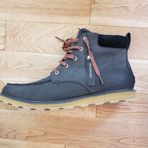 Waterproof Sz Nwt Men's Madson Sorel Toe 15 Moc Boots FKJuTlc31